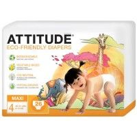 Ekologiska blöjor, Maxi 9-14 kg - Attitude