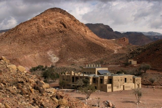 Jordanië Feynan ecohotel Wadi Feynan © Feynan Lodge