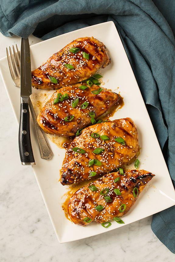 Hoisin глазированное Жареный Цыпленок |  Приготовление Классный