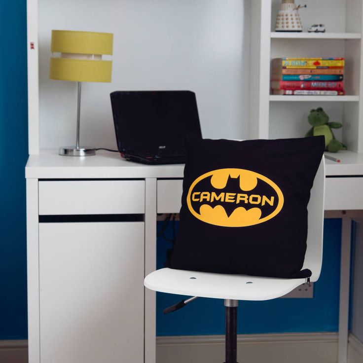 I've just found Superhero Children's Personalised Cushion. Superman or Batman?  Hard choice but ask your kids and we are sure they will have a favourite! If not get them one of each!!. £23.00