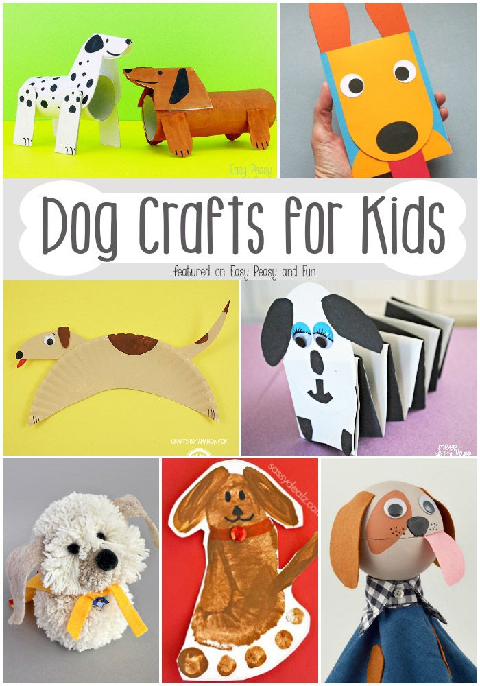 Dog Crafts for Kids - Fun Crafts to Make With Your Kids