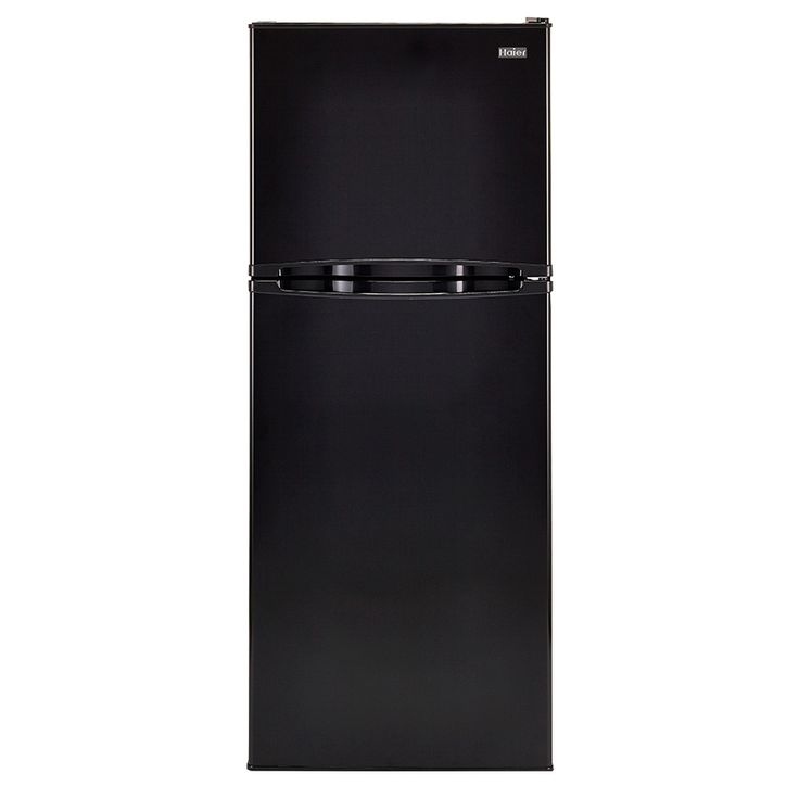 Haier 11 53 Cu Ft Top Freezer Refrigerator Black Ha12tg21sb In