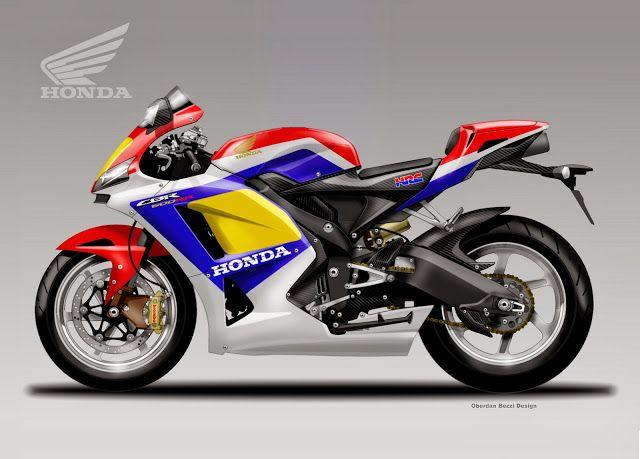 Honda CBR 600RR by Oberdan Bezzi