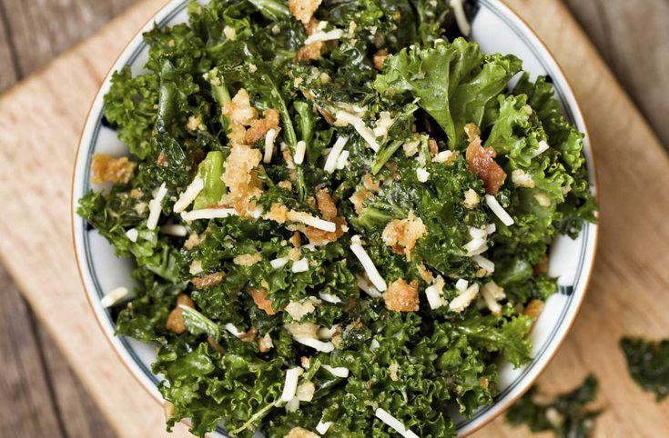 Kale & Crouton Salad