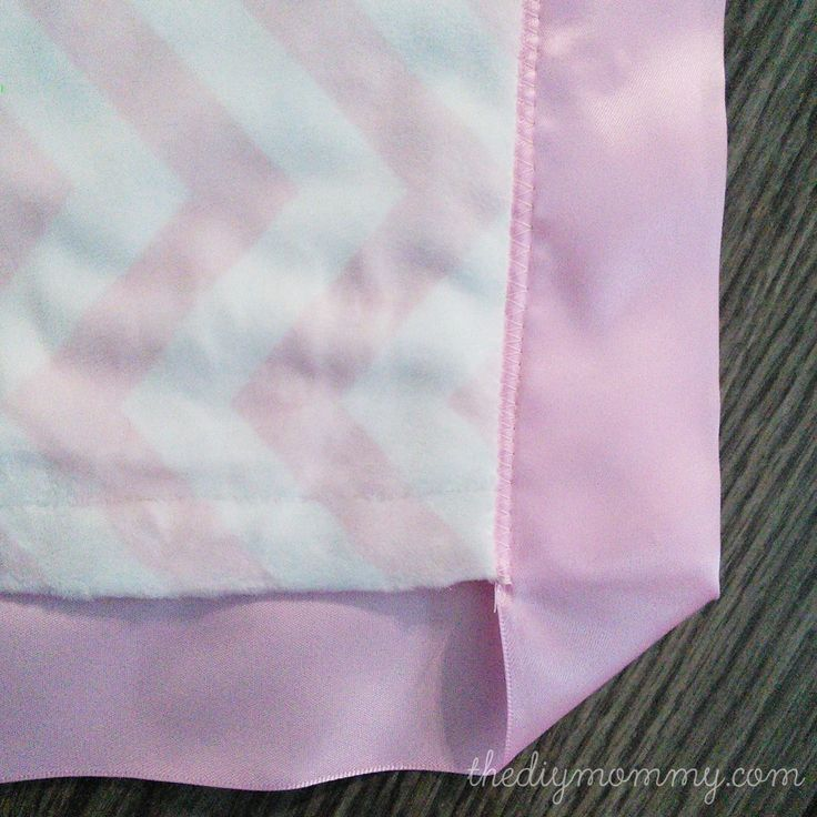 How To Sew The Softest Diy Baby Blanket With Two Layers Of