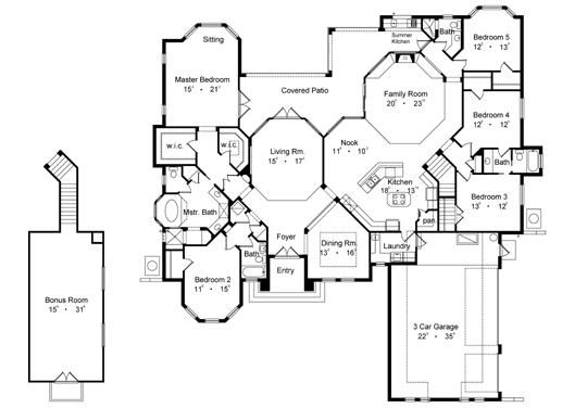 21 best luxury house plans images on pinterest luxury for Rembrandt homes floor plans