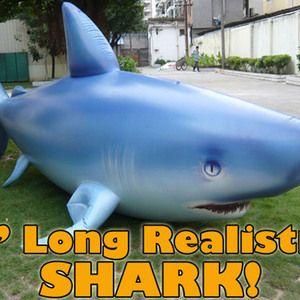 Giant 7' Inflatable Shark