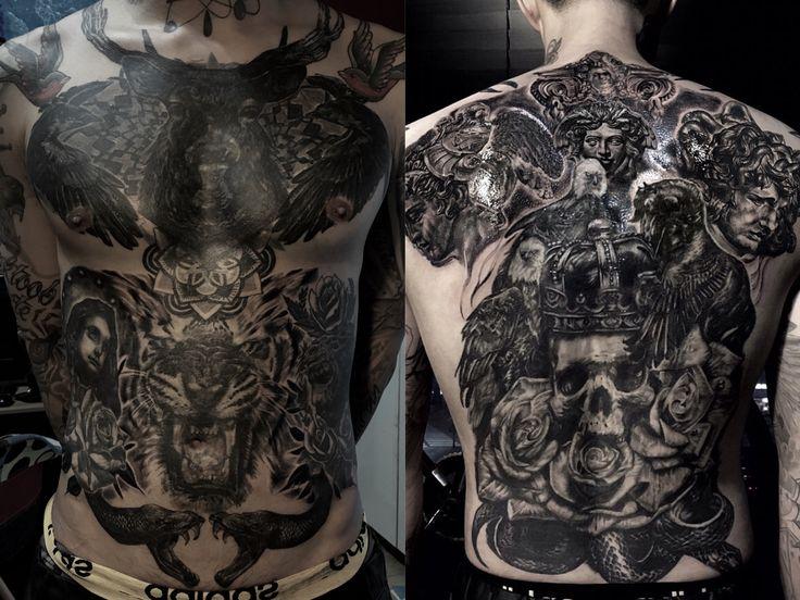 Body suit tattoo  Tattoo by jay d judas