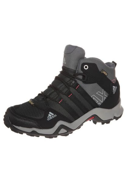 adidas Performance AX2 MID GTX Buty trekkingowe carbon/black/sharp grey