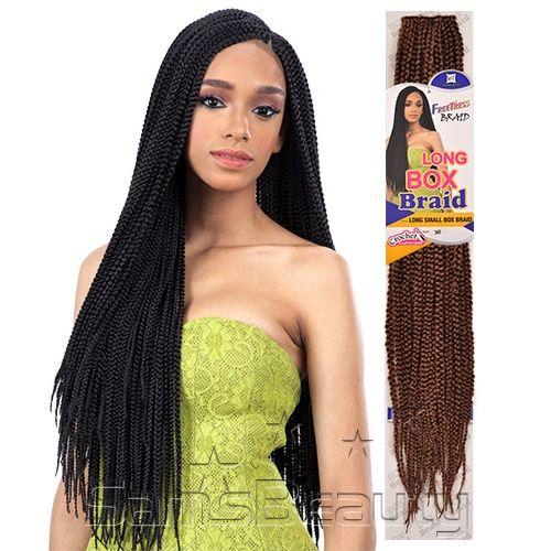 Freetress Crochet Box Braids Uk : FreeTress Synthetic Hair Crochet Braids Long Small Box Braid 24 ...