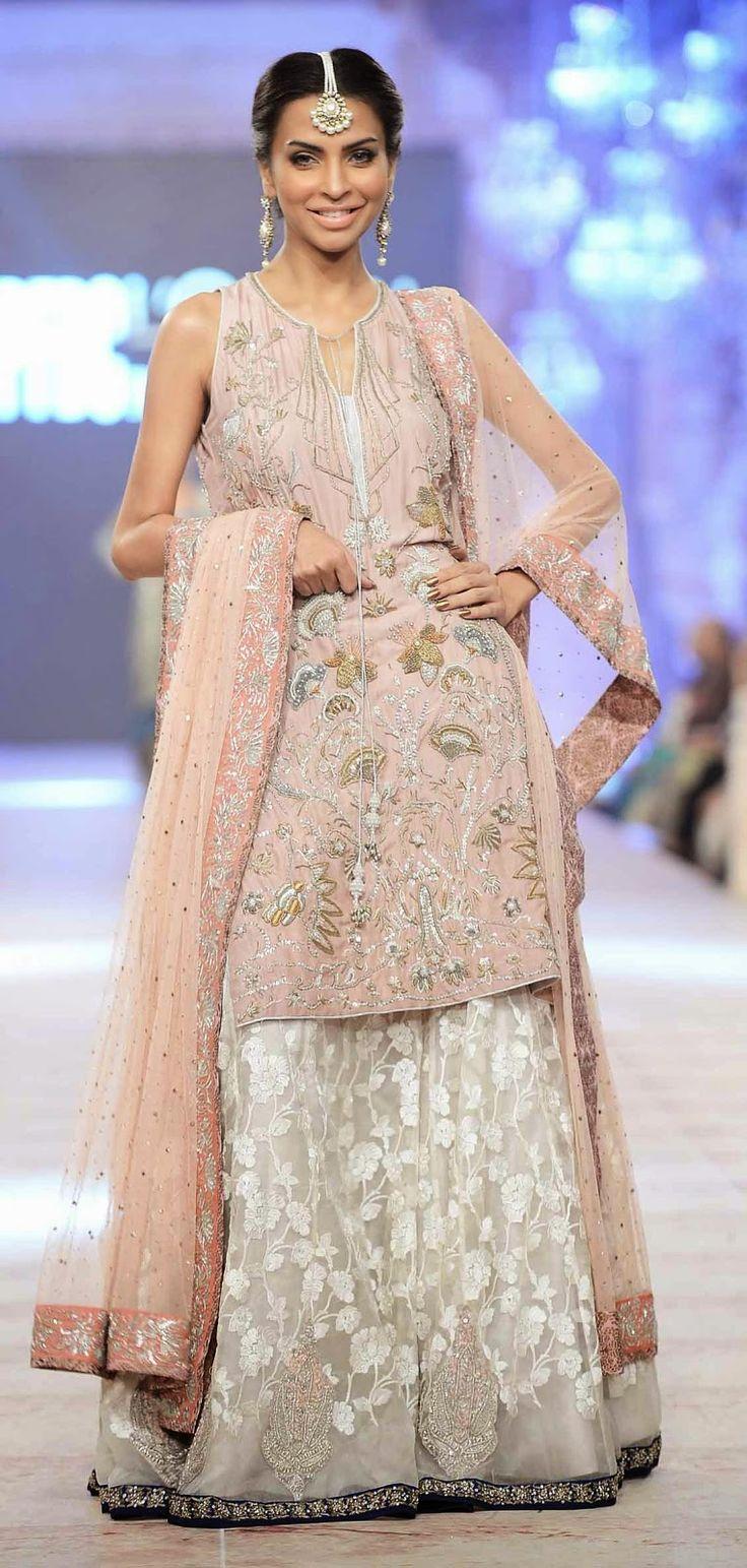 Nida Azwer's Bridal Showcase at PLBW 2014