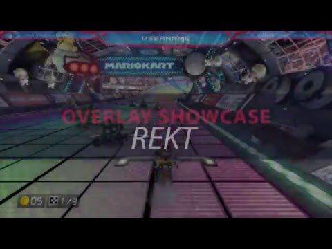 Twitch Overlay Template - Rekt Showcase
