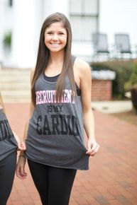 Recruitment Is My Cardio Razorback Workout Tank