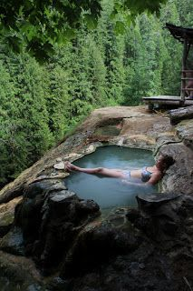 North Umpqua Hot Springs ♥ oooooh MY that looks relaxing! MyVeganJournal