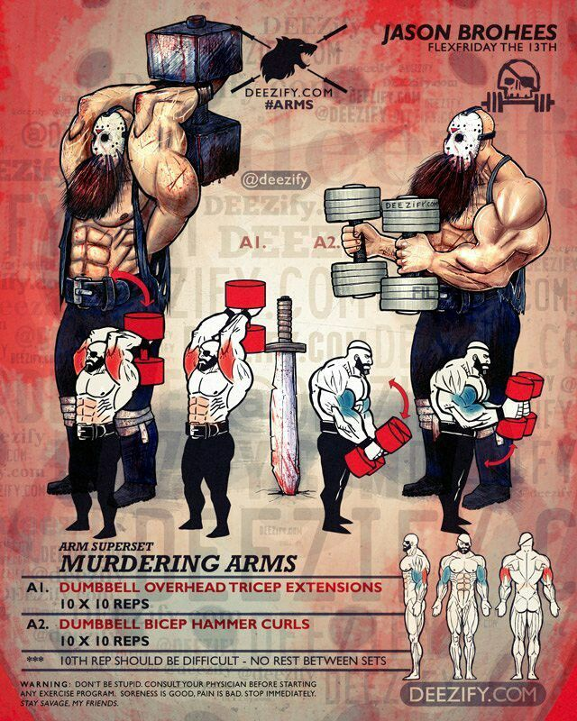 19 Best Arms & Shoulder Workouts Images On Pinterest