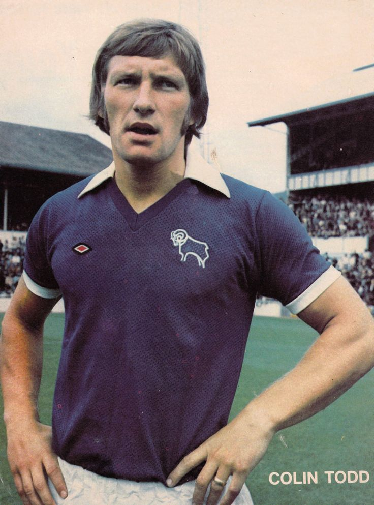 29th September 1973. Derby County defender Colin Todd before the match against Tottenham Hotspur at White Hart Lane.