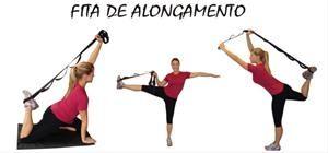 Fita profissional para Alongamento de ReaFitness Brasil - Equipamentos Esportivos