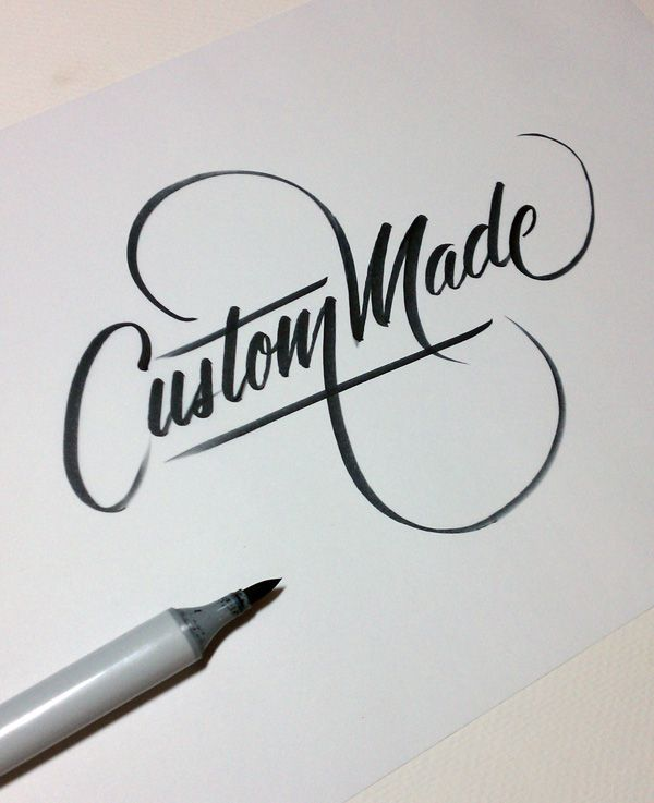 The art of hand lettering