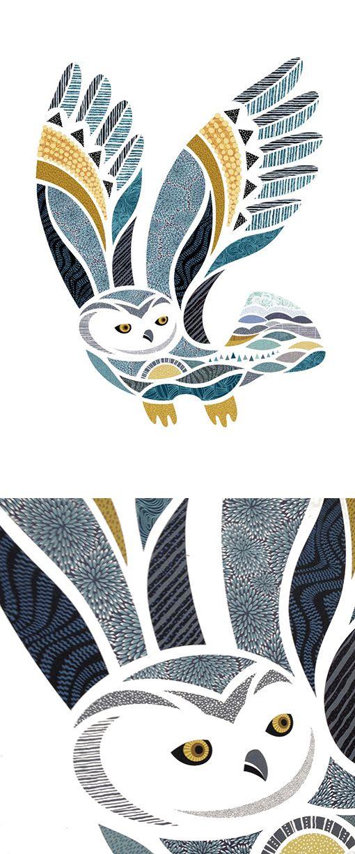Hugo le harfang - Hugo the Owl