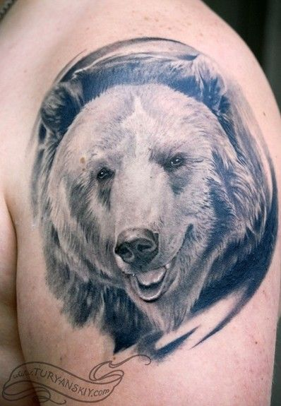 Planning on getting a tattoo of a bear someday - I'd want it to be more brown/realistic, but this gives me hope!