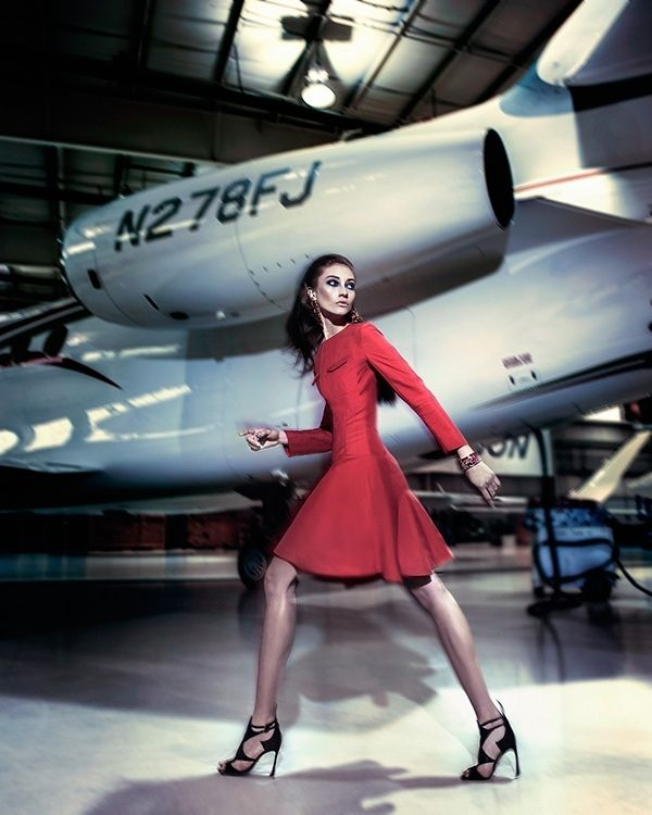 Marine Deleeuw Takes Flight for KOALAWORLD Editorial - Fashion Gone Rogue