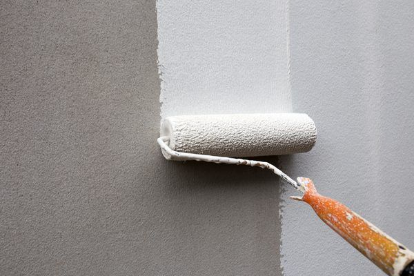 How To Paint With An Orange Peel Nap Roller Orange Peel Wall Texture Orange Peel Walls Orange Peel Texture
