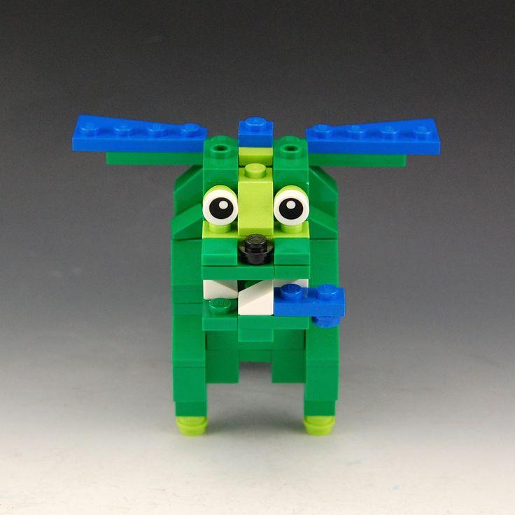 lego piggy bank instructions