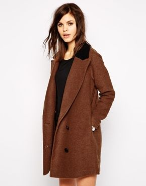 Enlarge Y.A.S Tailor Hairy Coat / asos