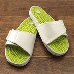 Reflexology Wellness Slide - Gaiam Foot-massaging stimulation relaxation sandals