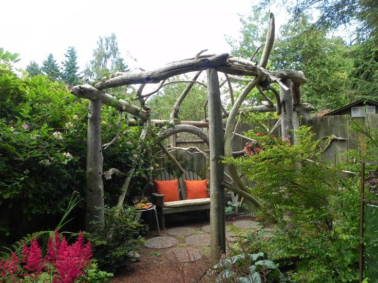 Best 25 Rustic Pergola Ideas On Pinterest Small Garden Arbor