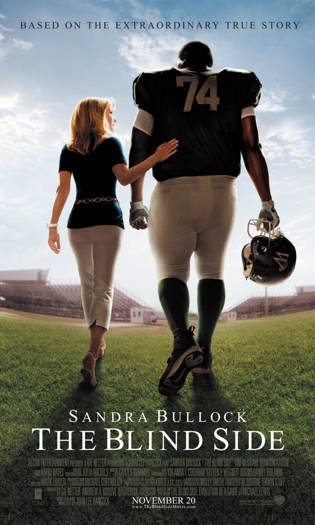 The Blind Side (2009)  I mean any fool can have courage. But honor, that's the real reason you either do something or you don't.