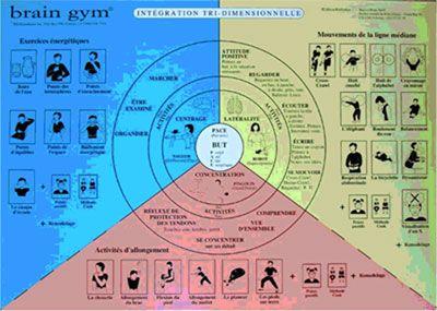Méthode pour aider à la concentration: Brain Gym ou kinésiologie éducative - Votre enfant, votre famille