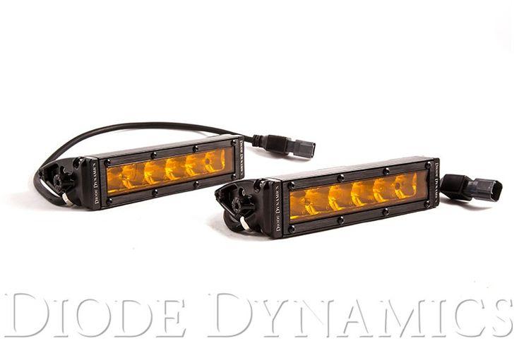 "SS6 Stage Series 6"" Amber Light Bar (pair)"
