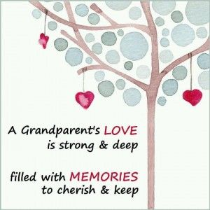 A grandparent's love is special.  Have you considered writing an affirming Soul Letter for your grandchild(ren)?