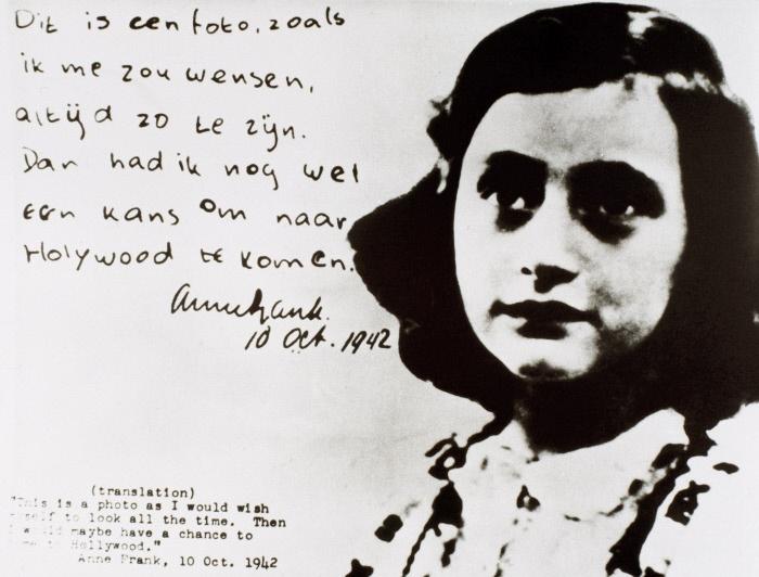 12 Giugno Anna Frank