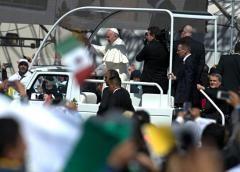 Vigente recuerdo de misa del papa en obras públicas del Edoméx