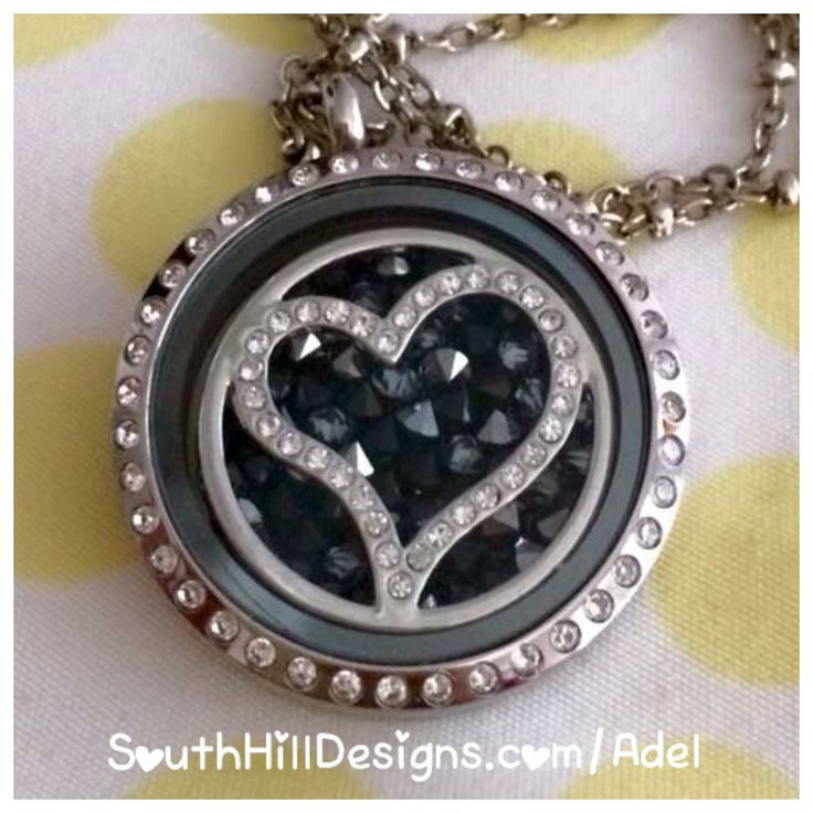 South Hill Designs lockets and charms. Love the new crystal heart screen!!! :)