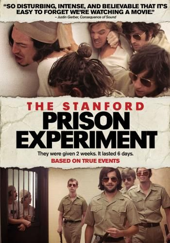 Stanford Prison Experiment, Movie on DVD, Drama Movies, Suspense
