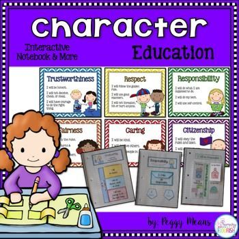 Character Education Interactive Notebook, Posters, and More (grades 1-4). This is a great unit that will help you develop a safe, caring classroom community!