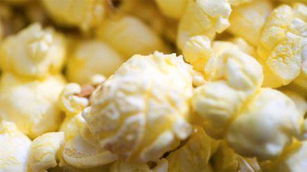 Le maïs soufflé, une «collation parfaite»