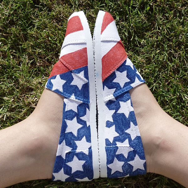 Shoesday Tuesday - Patriotic Kicks - Dream a Little Bigger