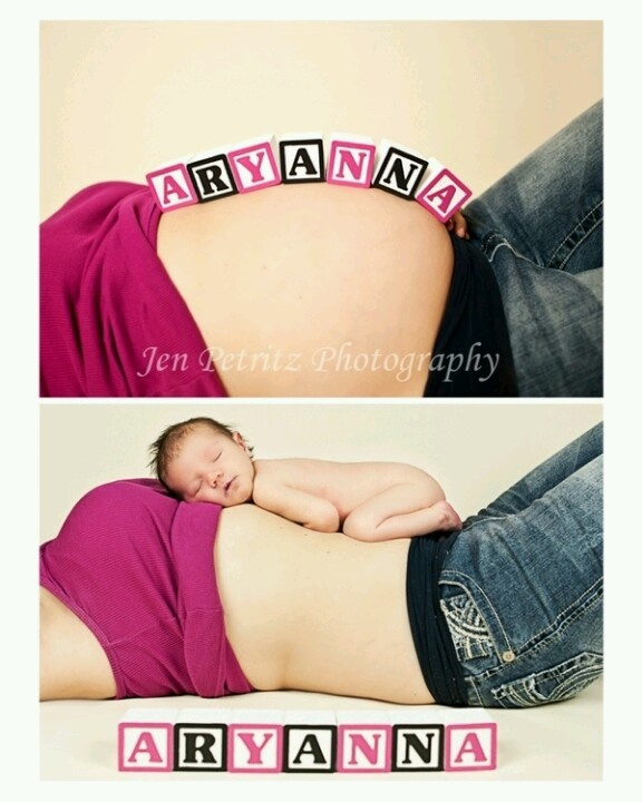 Maternity...love the before and after