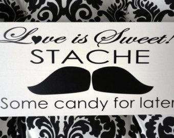 Cute mustache quote