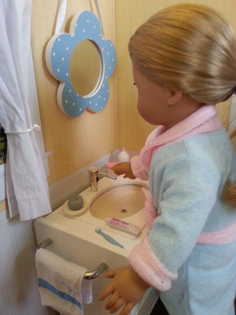 American Girl Doll Bathroom Sink American Girl Doll Crafts Pinter