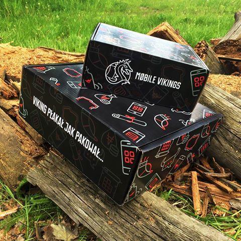Mobile Vikings #mattfoil #bespokebox #mailerbox #packaging #ideas