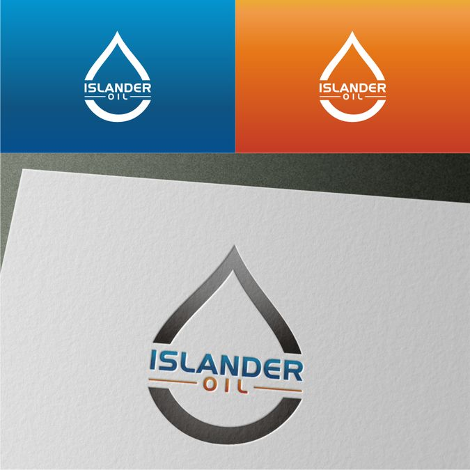 Create a kickass oil company logo for Islander Oil by Uciha itachi™
