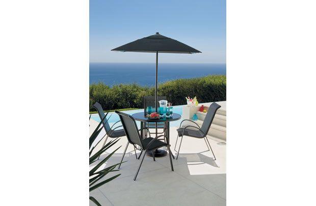 andorra 4 seater garden furniture set garden pinterest gardens