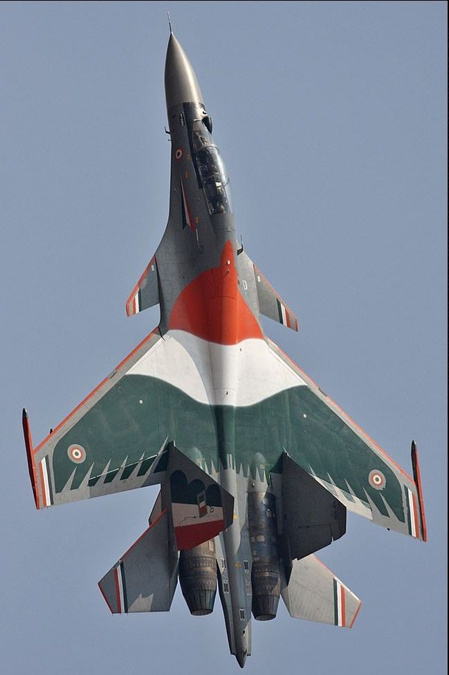 Sukhoi SU-30 Indian Air Force (IAF)