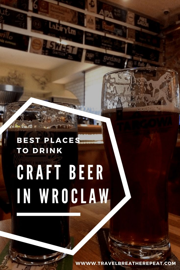Where to drink Polish craft beer in Wroclaw, Poland; best craft beer bars in Wroclaw