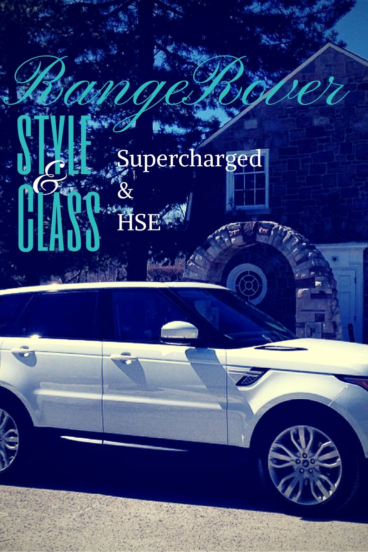 Range Rover #Hse & #Supercharged Review - #LandRover #RangeRover #HSE #Supercharged #Review #Automotive #Cars #Motorsports #Luxury #Style #Class #Driving #AllWheelDrive #CoverPin #EstatesOfSunnybrook